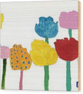 Tulips  Wood Print by Don Larison