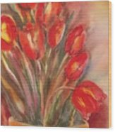 Tulips For David Wood Print