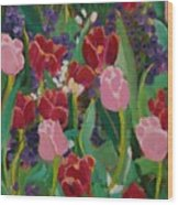 Tulips In The Capitol Wood Print