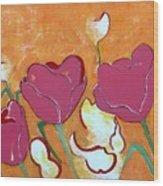 Tulpen 69 Wood Print