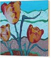 Tulpen 71 Wood Print