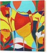 Tulpen 73 Wood Print