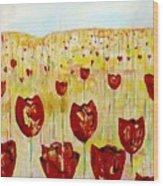 Tulpen 74 Wood Print