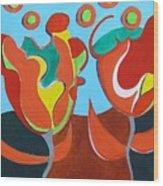Tulpen 77 Wood Print