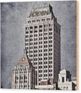 Tulsa Art Deco I Wood Print by Tamyra Ayles