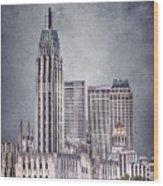 Tulsa Art Deco II Wood Print