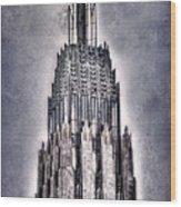 Tulsa Art Deco IIi Wood Print by Tamyra Ayles