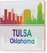 Tulsa Ok Wood Print