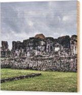 Tulum Ruins Wood Print