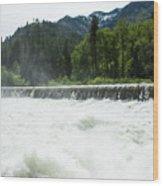 Tumwater Dam Wood Print