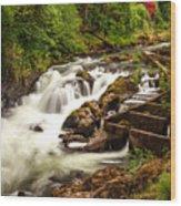 Tumwater Wood Print
