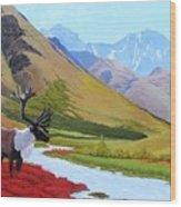 Tundra Wood Print