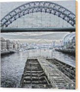 Tyne Bridge, Newcastle Wood Print