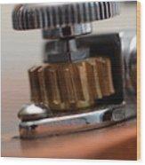 Tuning Machine Wood Print