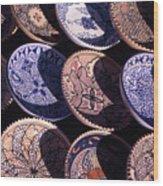 Tunisian Ceramics Wood Print
