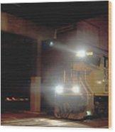 Tunnel Light Wood Print
