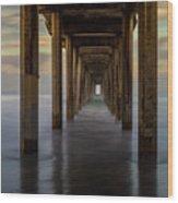 Tunnelscape Wood Print