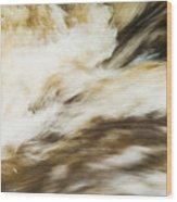 Turbulence Two Wood Print