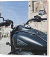 Turgalium Motorcycle Club 01 Wood Print