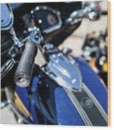 Turgalium Motorcycle Club 02 Wood Print