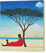 Turkana Afternoon Wood Print