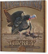 Turkey Traditions Wood Print by JQ Licensing