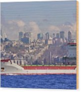 Turkish Cargo Wood Print