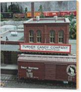 Turner Candy Co Wood Print