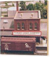 Turner Candy Company Wood Print