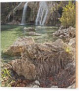 Turner Falls in the Arbuckles Wood Print