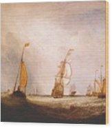turner helvoetsluys the city of utrecht 64 going to sea 1832 Joseph Mallord William Turner Wood Print