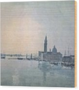 Turner Joseph Mallord William San Giorgio Maggiore In The Morning Joseph Mallord William Turner Wood Print