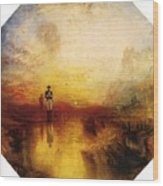Turner Joseph Mallord William The Exile And The Snail Joseph Mallord William Turner Wood Print