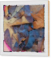 Turning Leaves Wood Print