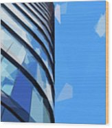 Turning The Corner - The Skywards Series Wood Print