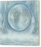 Turquoise Dream Wood Print