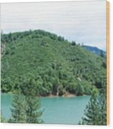 Turquoise Waters Wood Print