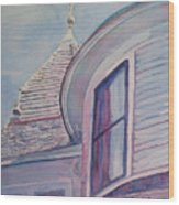 Turret And Copula  Wood Print