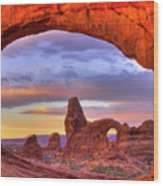 Turret Arch 1 Wood Print