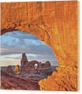 Turret Arch 3 Wood Print
