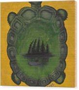 Turtle Island Wood Print