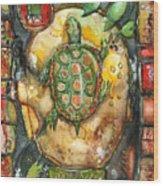 Turtle Wood Print