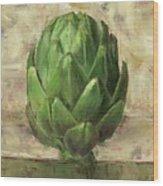 Tuscan Artichoke Wood Print