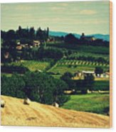 Tuscan Country Wood Print