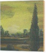 Tuscan Dusk 1 Wood Print