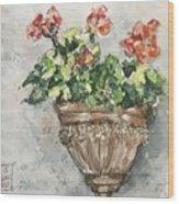 Tuscan Floral Wood Print