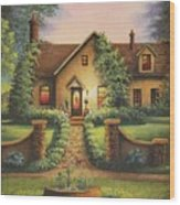Tuscan Home Wood Print