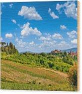 Tuscan Idyll  Wood Print