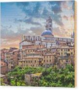 Tuscan Romance  Wood Print
