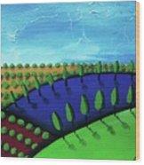 Tuscan Storm Wood Print